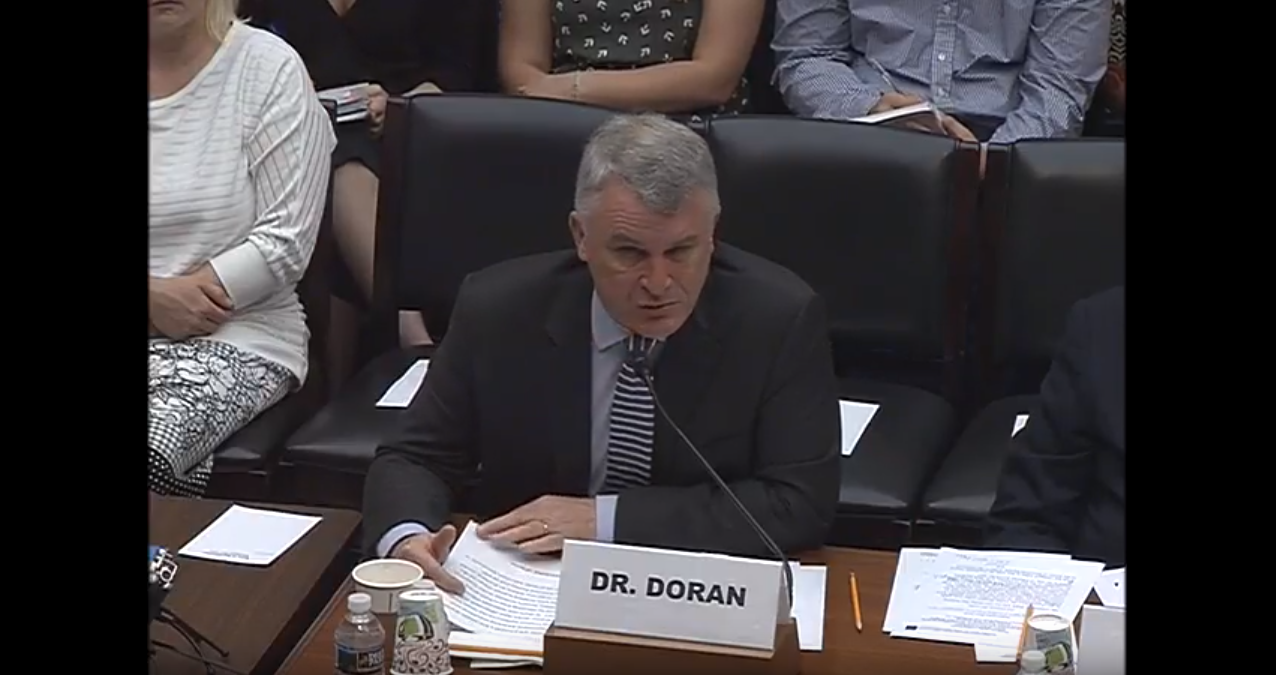 Michael Doran Testifies before House Subcommittee on National Security, July 17, 2018