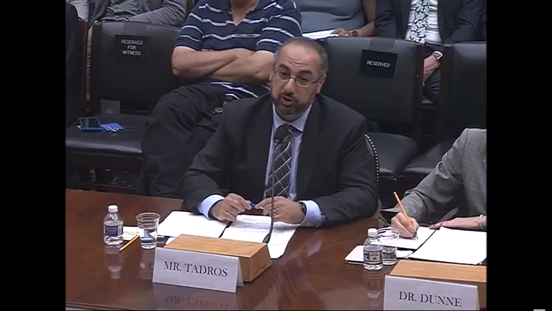 Samuel Tadros Testifies before U.S. House Committee on Foreign Affairs, July 24, 2018