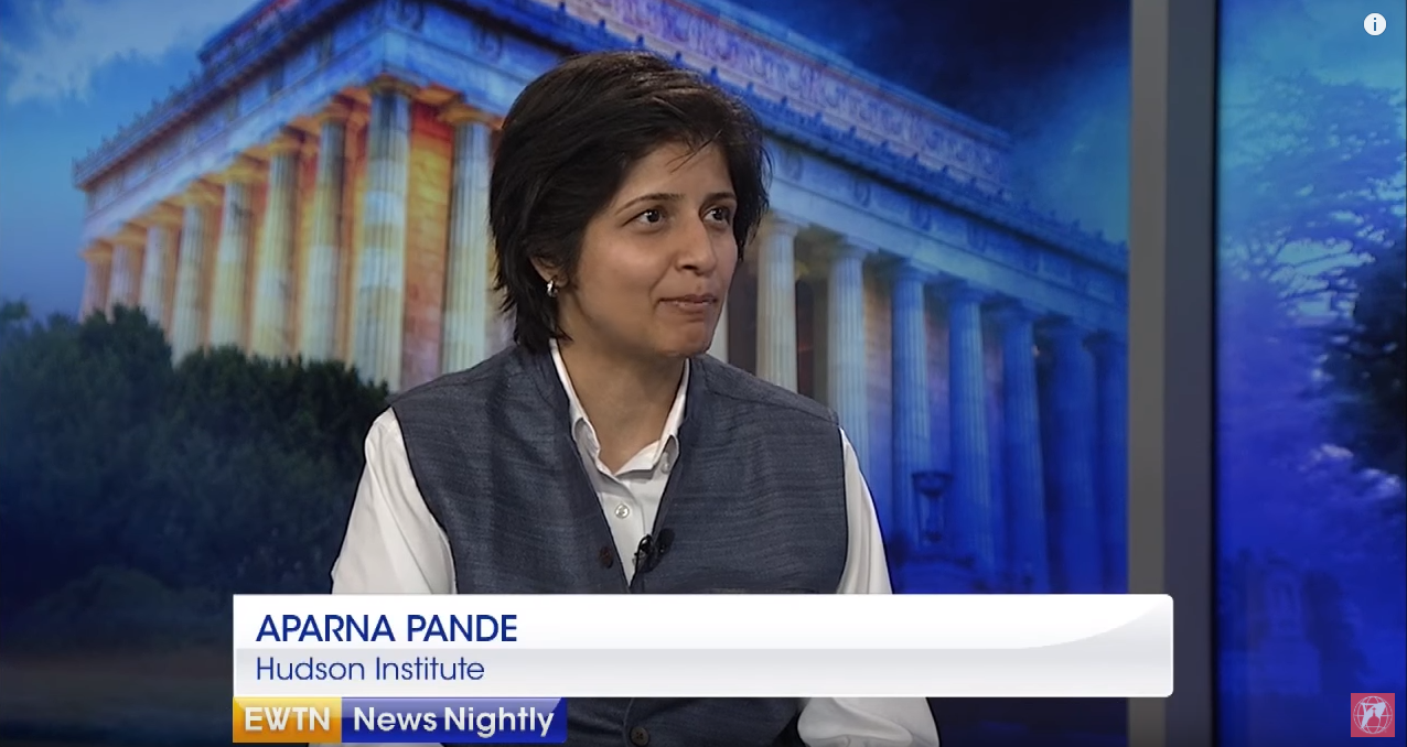 Aparna Pande on EWTN, July 27, 2018