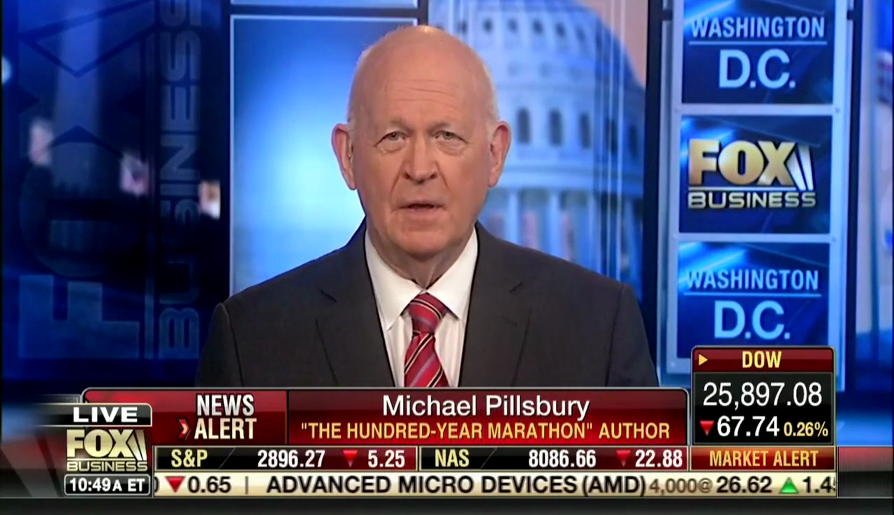 Michael Pillsbury on Fox Business, September 4, 2018