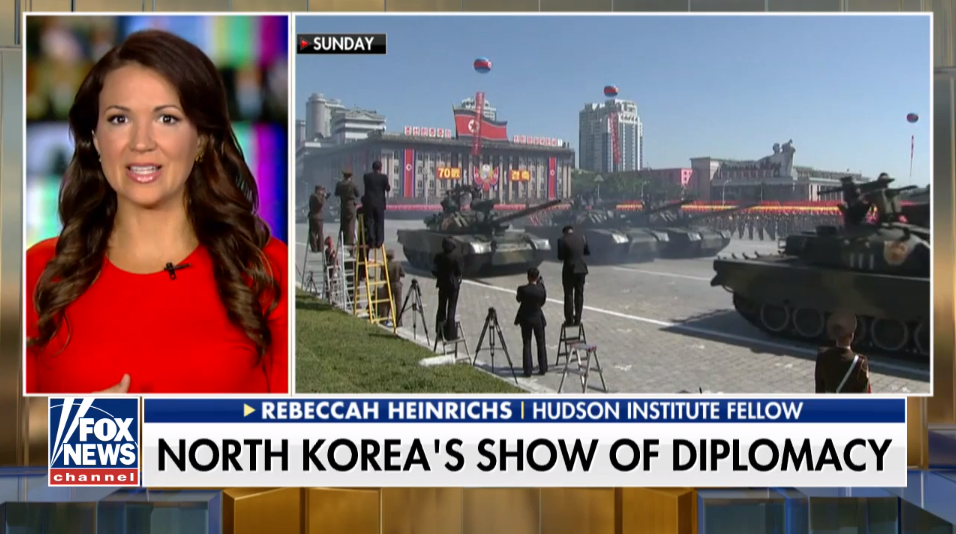 Rebeccah Heinrichs on Fox News, September 10, 2018