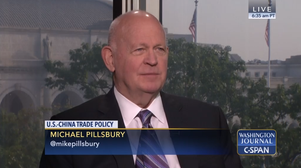 Michael Pillsbury on CSPAN, October 4, 2018