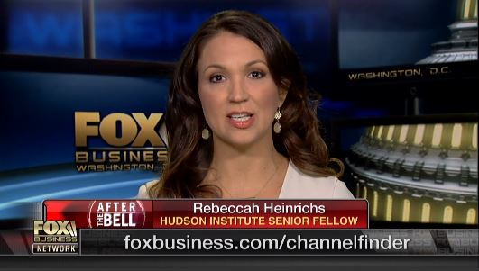 Rebeccah Heinrichs discusses the message behind the U.S. military carrying out an