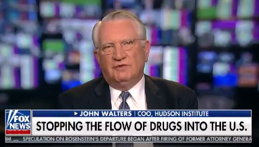 John Walters discusses the effects of President Trump's proposed border wall expansion on the flow of illegal drugs into the United States, January 10, 2019