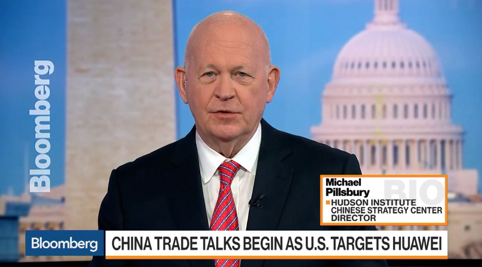 Michael Pillsbury discusses the state of trade negotiations between the U.S. and China, January 29, 2019