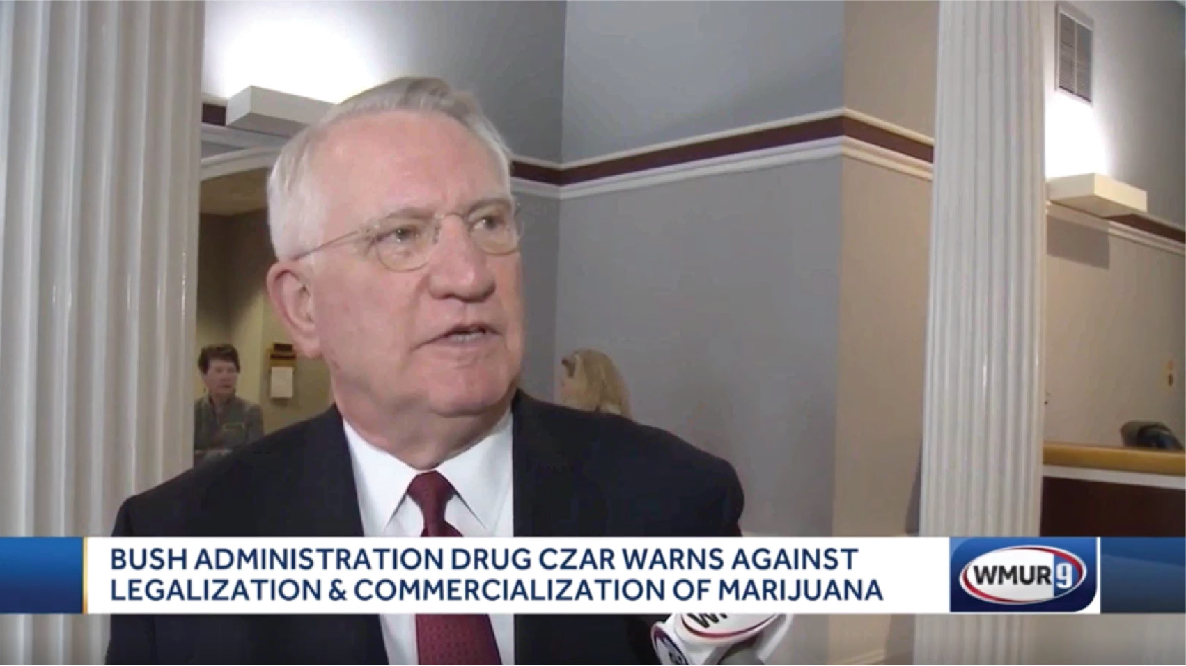 John Walters discusses the threat of marijuana legalization and his testimony against the legalization bill in New Hampshire.