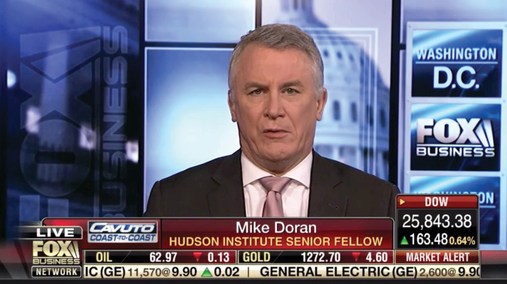 Michael Doran discussed the escalating tensions with Iran and what a U.S. contingency plan might look like.