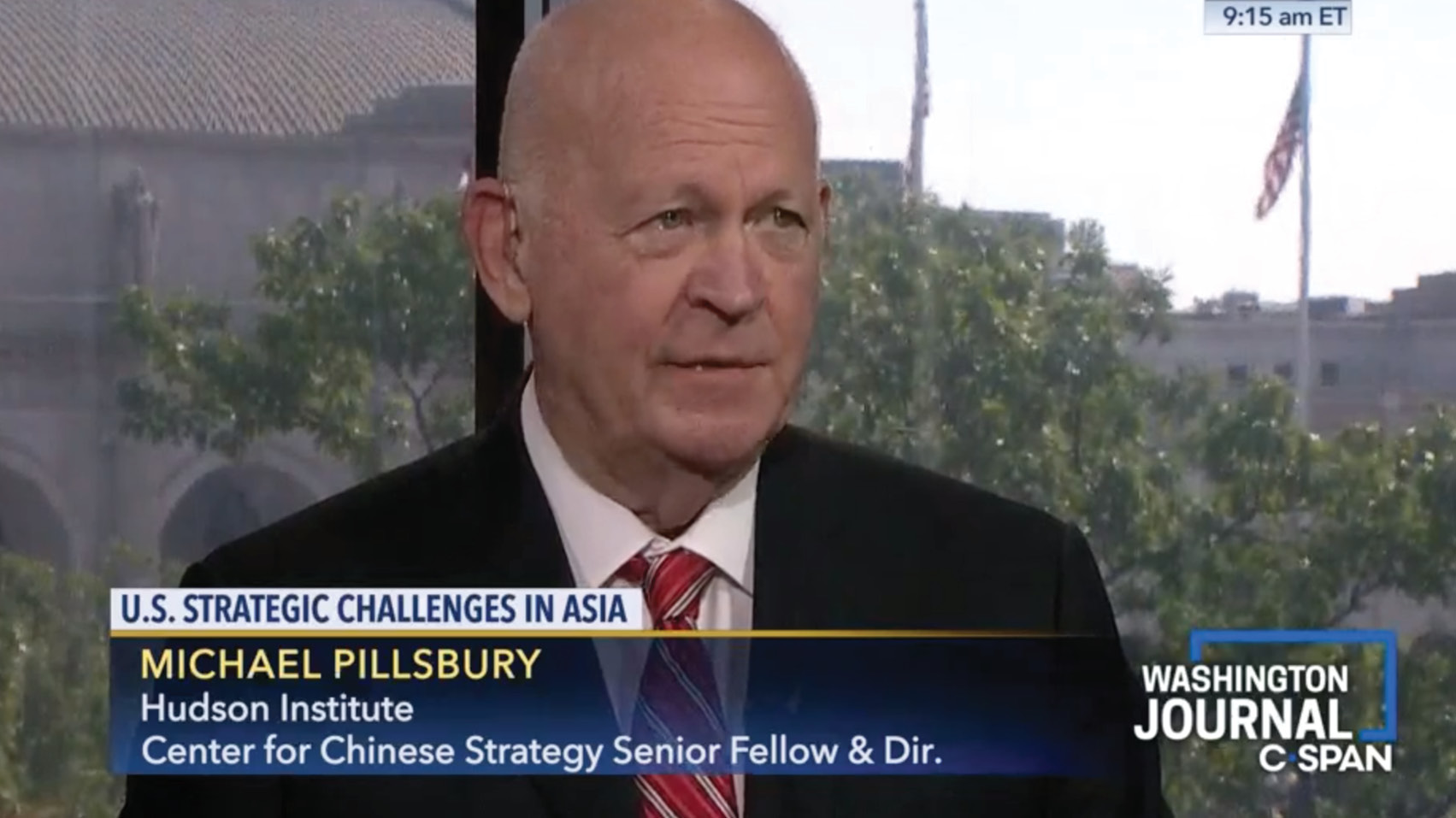 Michael Pillsbury discusses President Trump's trip to Japan, threats from North Korea, and the ongoing U.S.-China trade war.