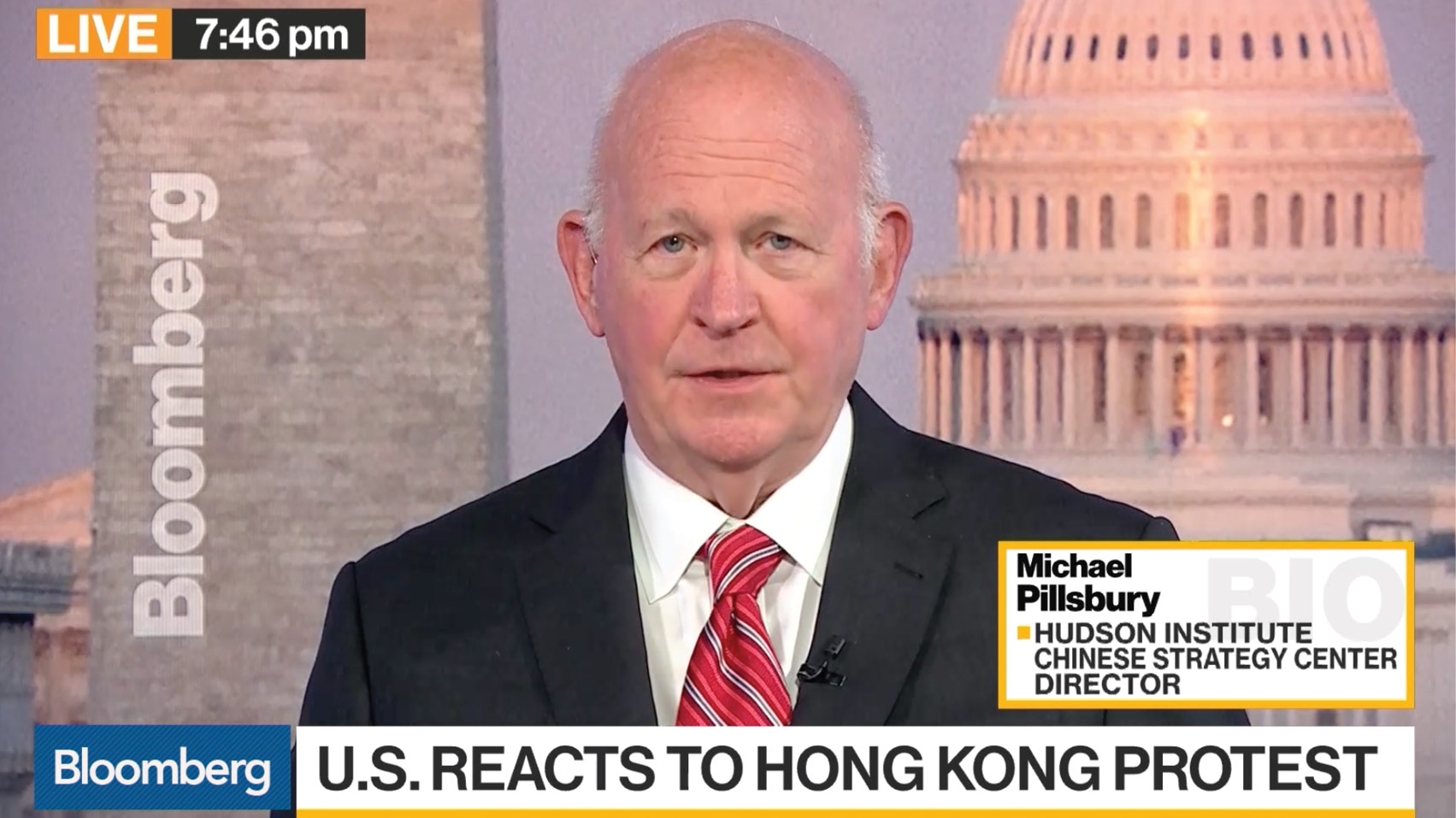 Michael Pillsbury discusses President Trump's comments on Hong Kong-China relations, the U.S.-China trade negotiations, and the future of U.S.-Hong Kong relations.