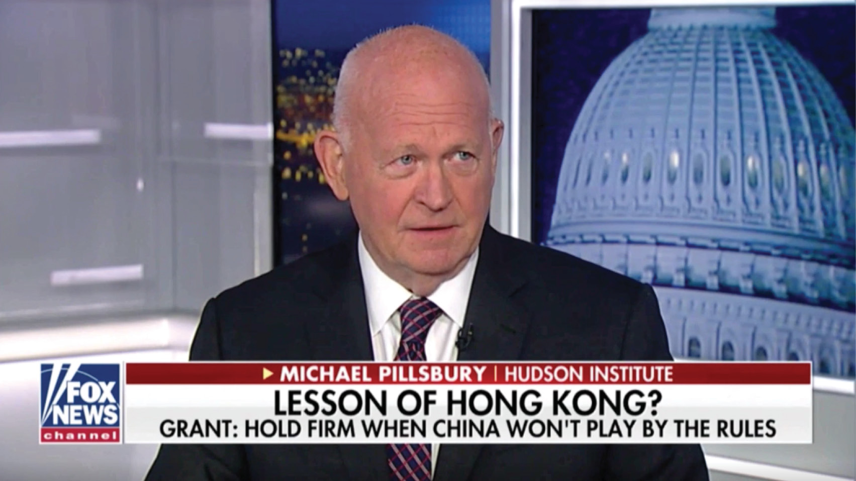 Michael Pillsbury discusses what the Hong Kong protests mean for U.S.-China trade talks.