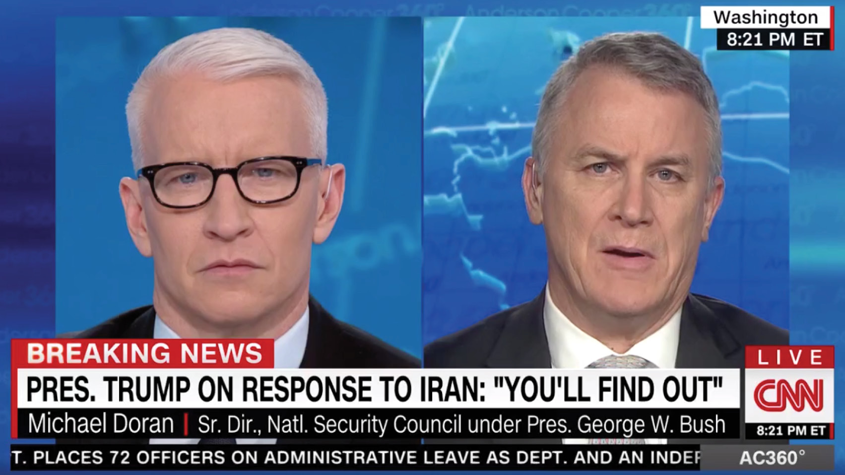 Mike Doran discusses recent Iranian provocations and President Trump's response options.