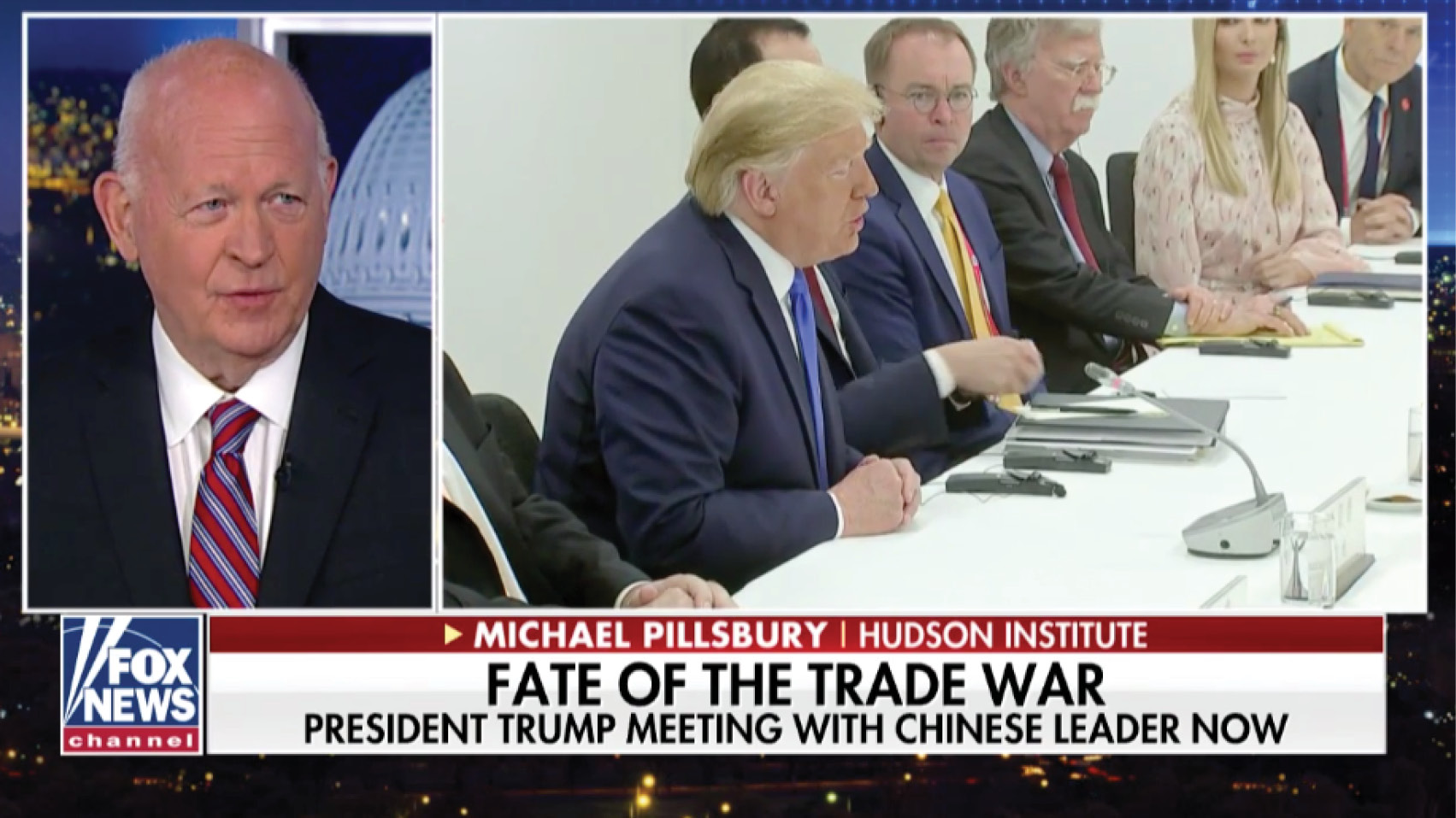 Michael Pillsbury weighs in on whether Trump's meeting with President Xi will restart trade talks.