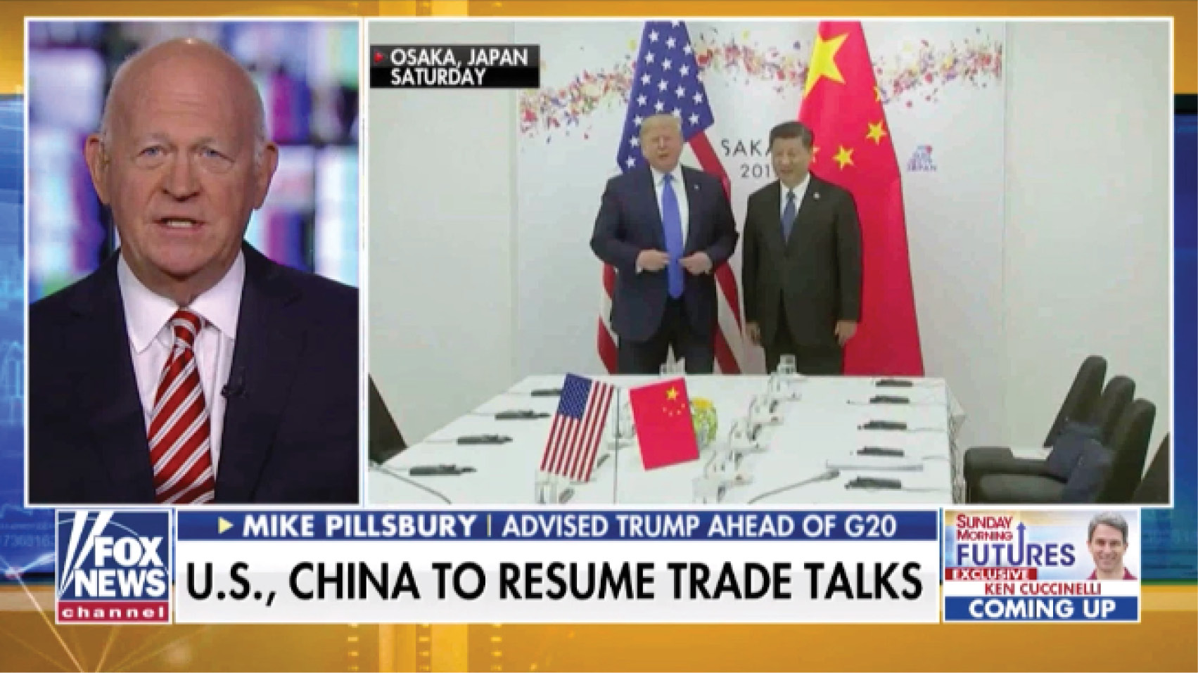 Michael Pillsbury weighs in on the future of U.S.-China trade talks.