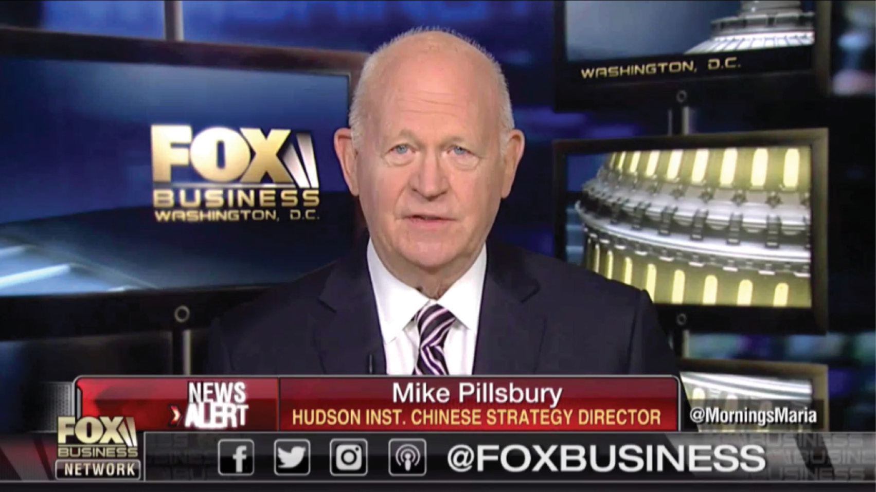 Michael Pillsbury discusses the latest on the Trump administration's trade negotiations with China.