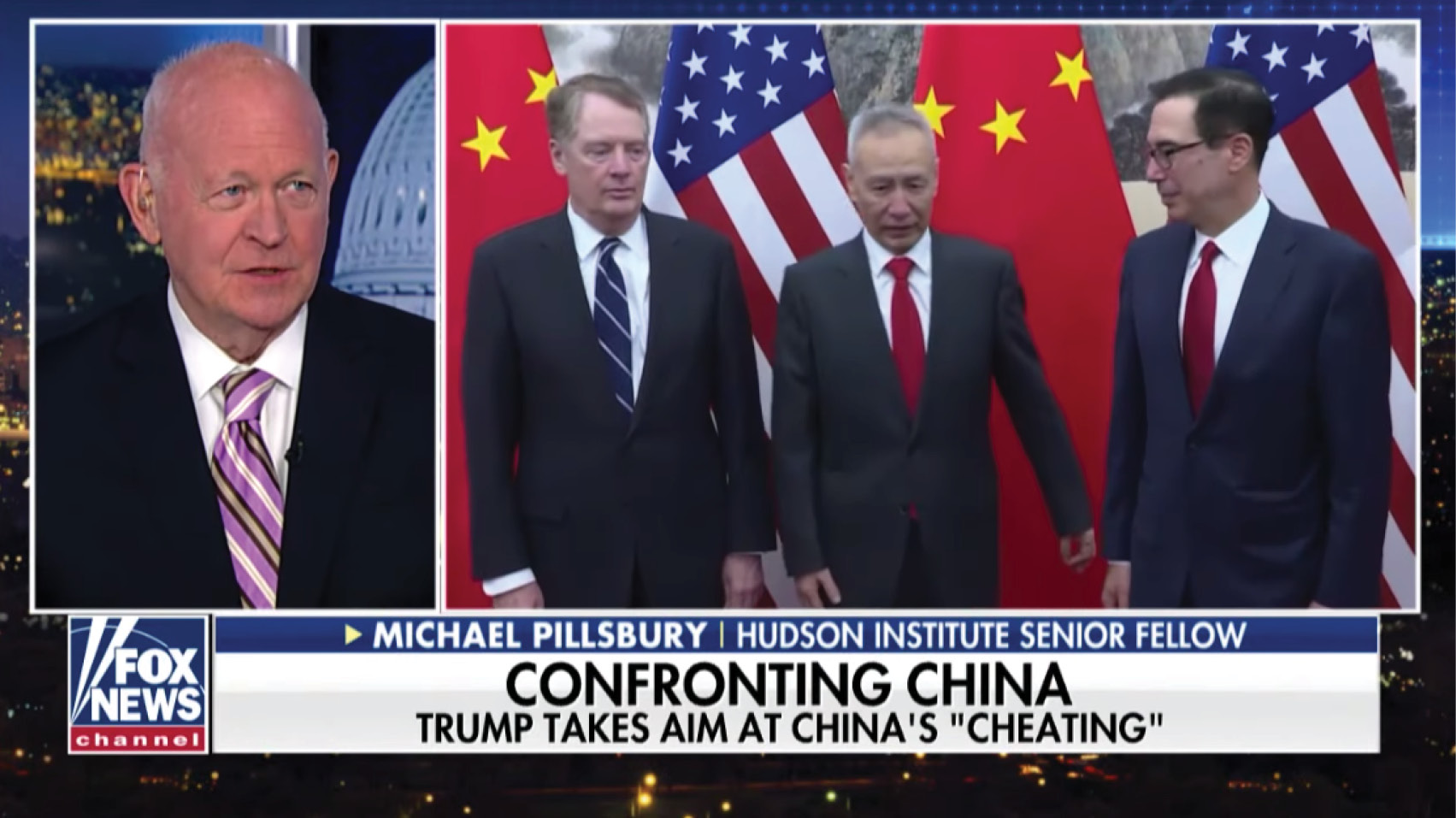 Michael Pillsbury discusses warnings from experts who say if the President keeps up the pressure in his trade war with China, that the country could be in a recession in three quarters.