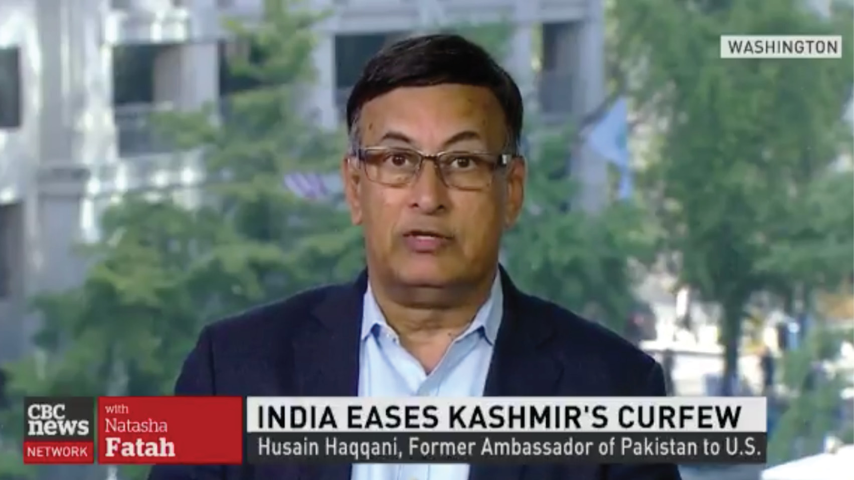 Husain Haqqani discusses Modi's move to revoke Article 370, changing the legal status of Kashmir and taking away their political autonomy.