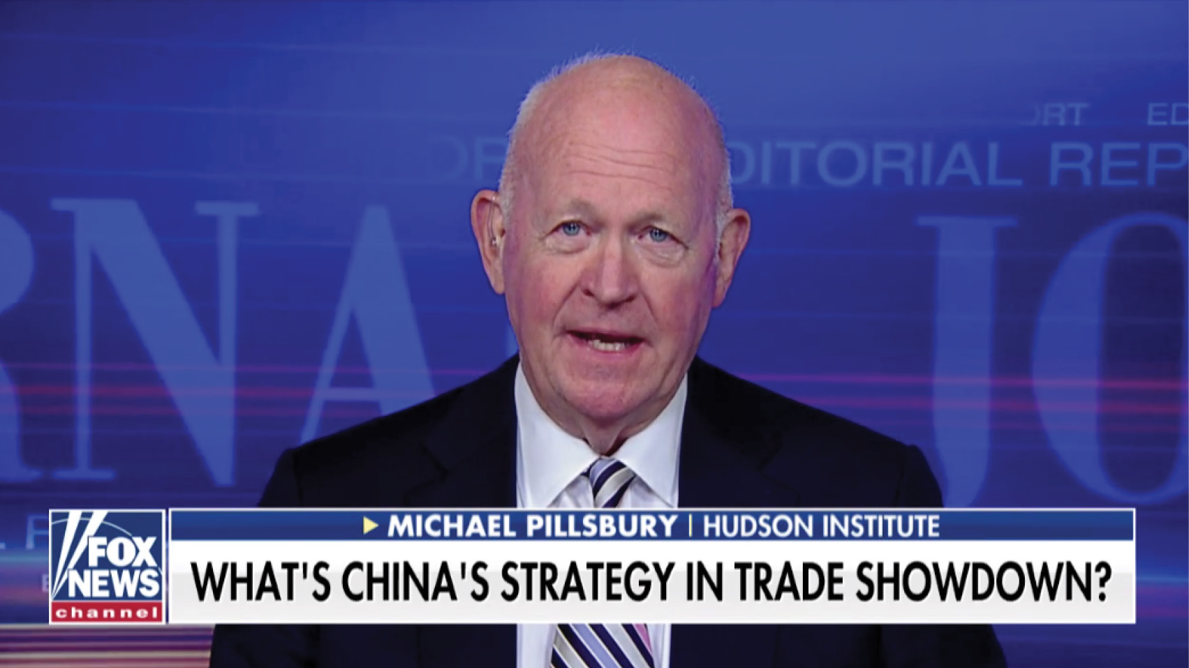 Michael Pillsbury discusses the ongoing trade negotiations and whether China is stalling in hopes of 2020 delivering a new president.