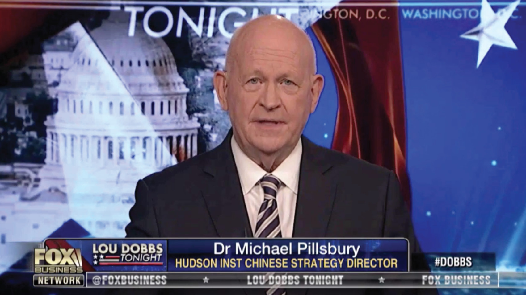 In an interview on Fox Business, Michael Pillsbury discusses the undersea cable project connecting the U.S. to China and Google's relationship with the Chinese.