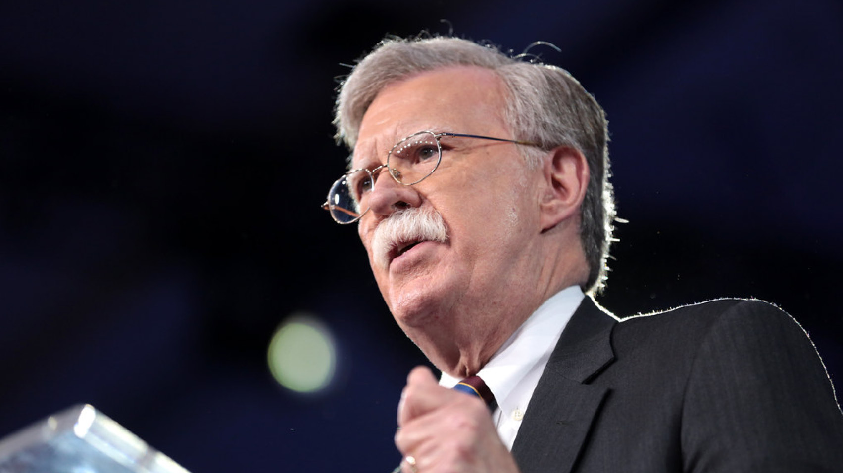 Peter Rough discussed the resignation of John Bolton as National Security Advisor.