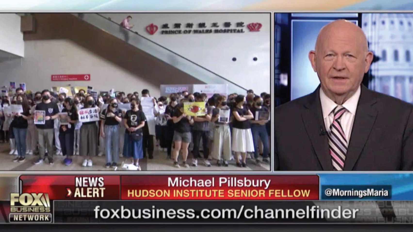 Michael Pillsbury discusses the impact the Hong Kong protests could have on the US-China trade negotiations.
