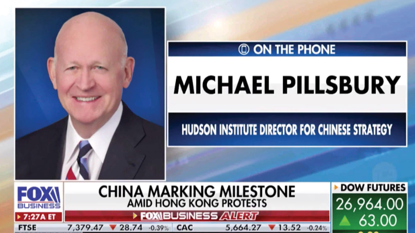 Michael Pillsbury discusses the new weaponry being displayed during China's 70th anniversary celebration.