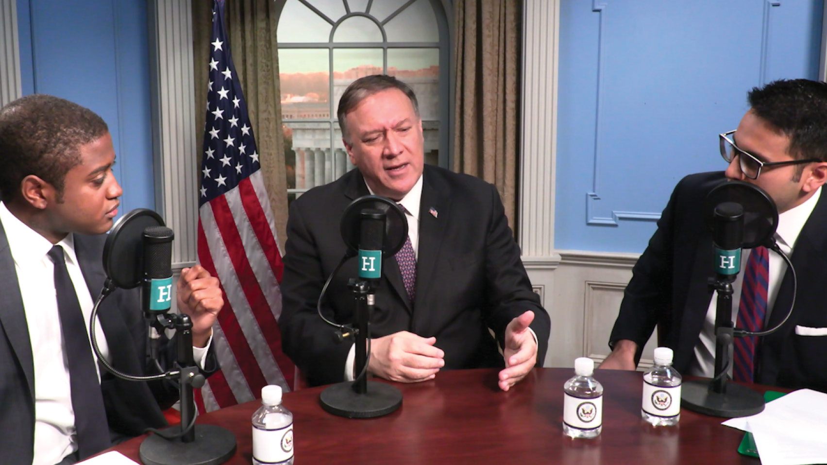 Marshall and Saagar travel to the State Department to interview Secretary of State Mike Pompeo about his approach to foreign policy and how the sports and entertainment industry should navigate the Chinese market.