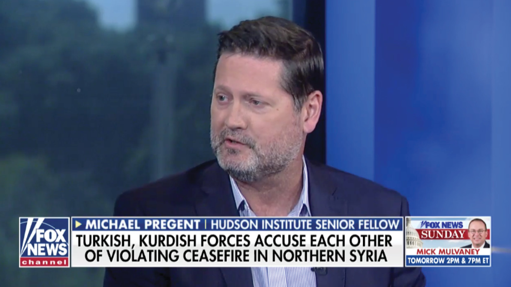 In an interview with Leland Vittert on Fox News, Michael Pregent discusses the Turkey cease-fire deal.