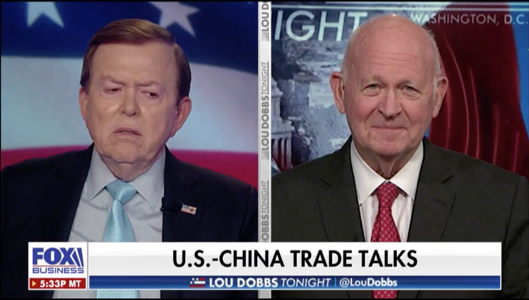 Michael Pillsbury discusses 'phase one' on the US-China trade deal.