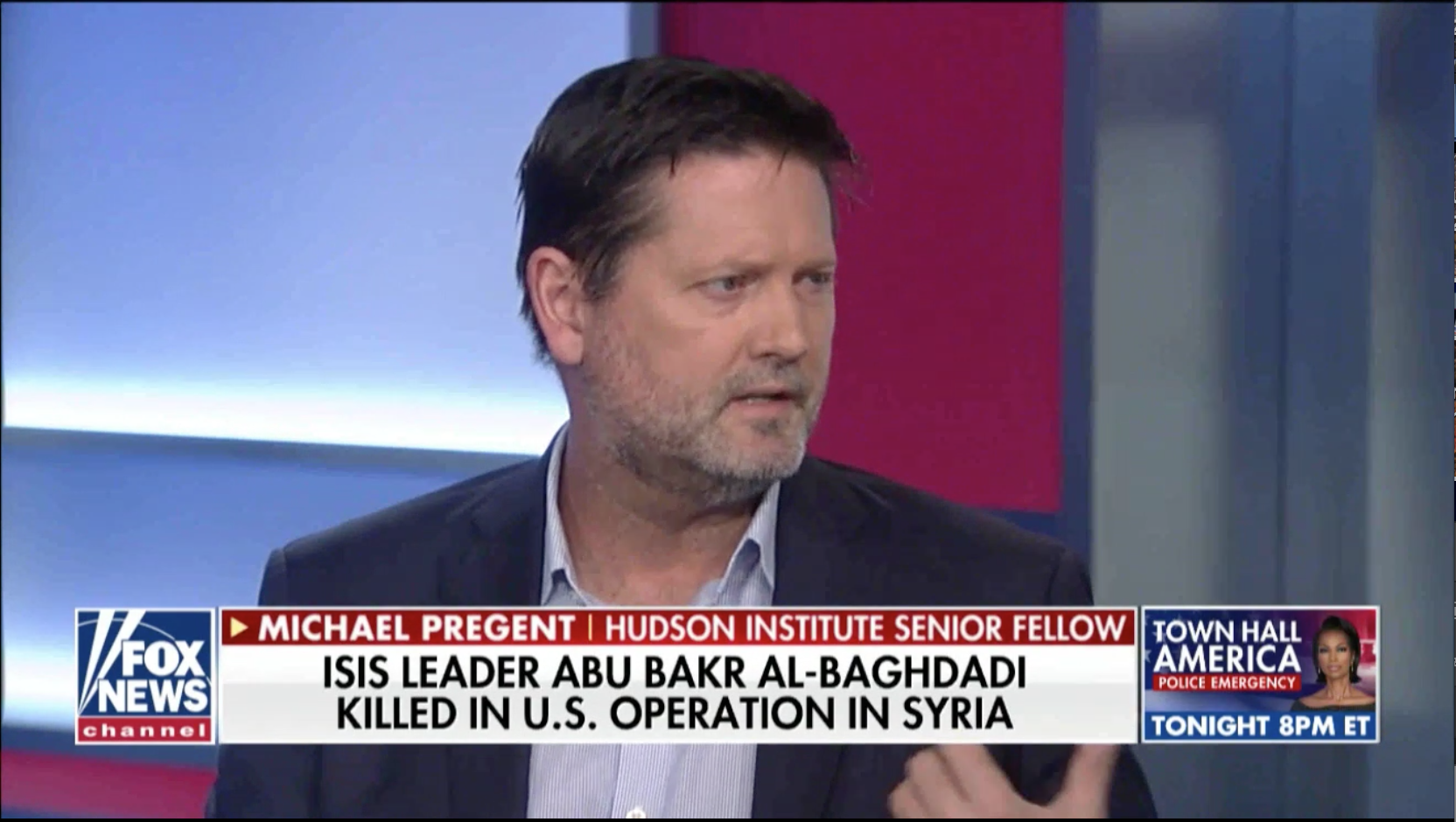Michael Pregent discusses the US intelligence community and the death of ISIS leader.