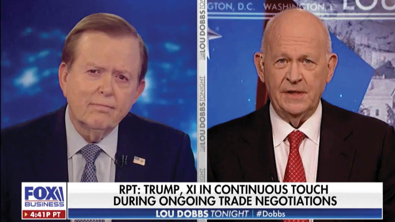 Michael Pillsbury discusses the ongoing trade deal with China