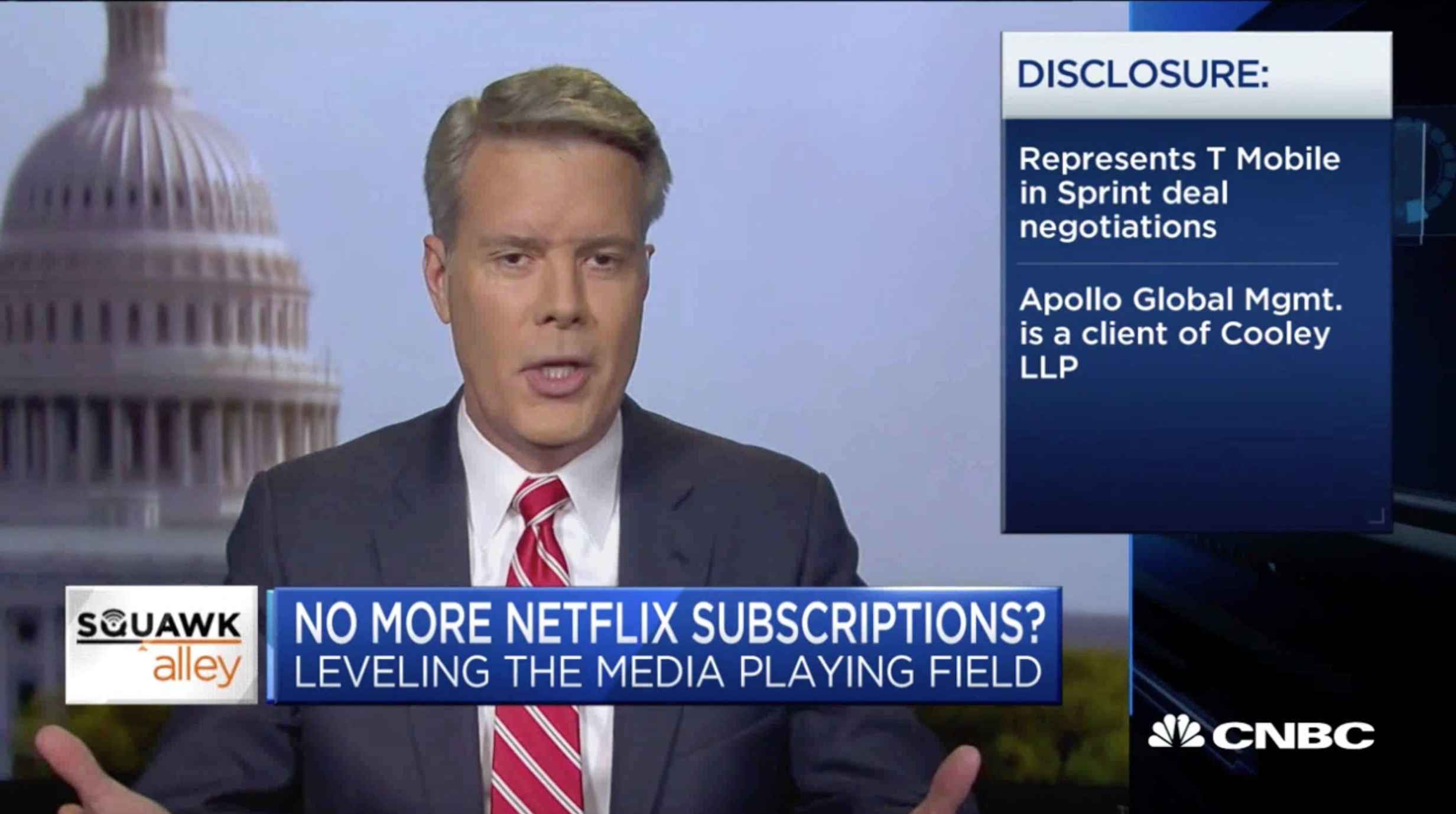 Robert McDowell discusses the FCC and the importance of leveling the playing field between broadcasters and streaming providers.
