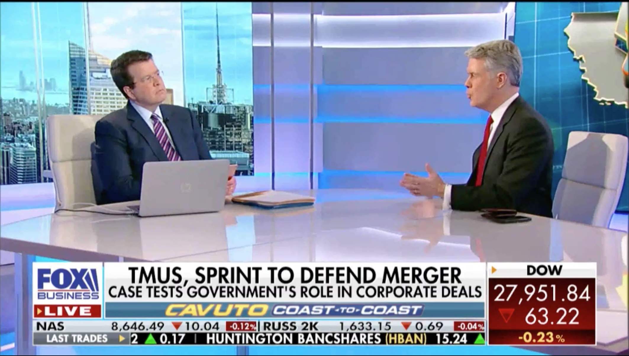 Robert McDowell discusses the T-Mobile/Sprint merger
