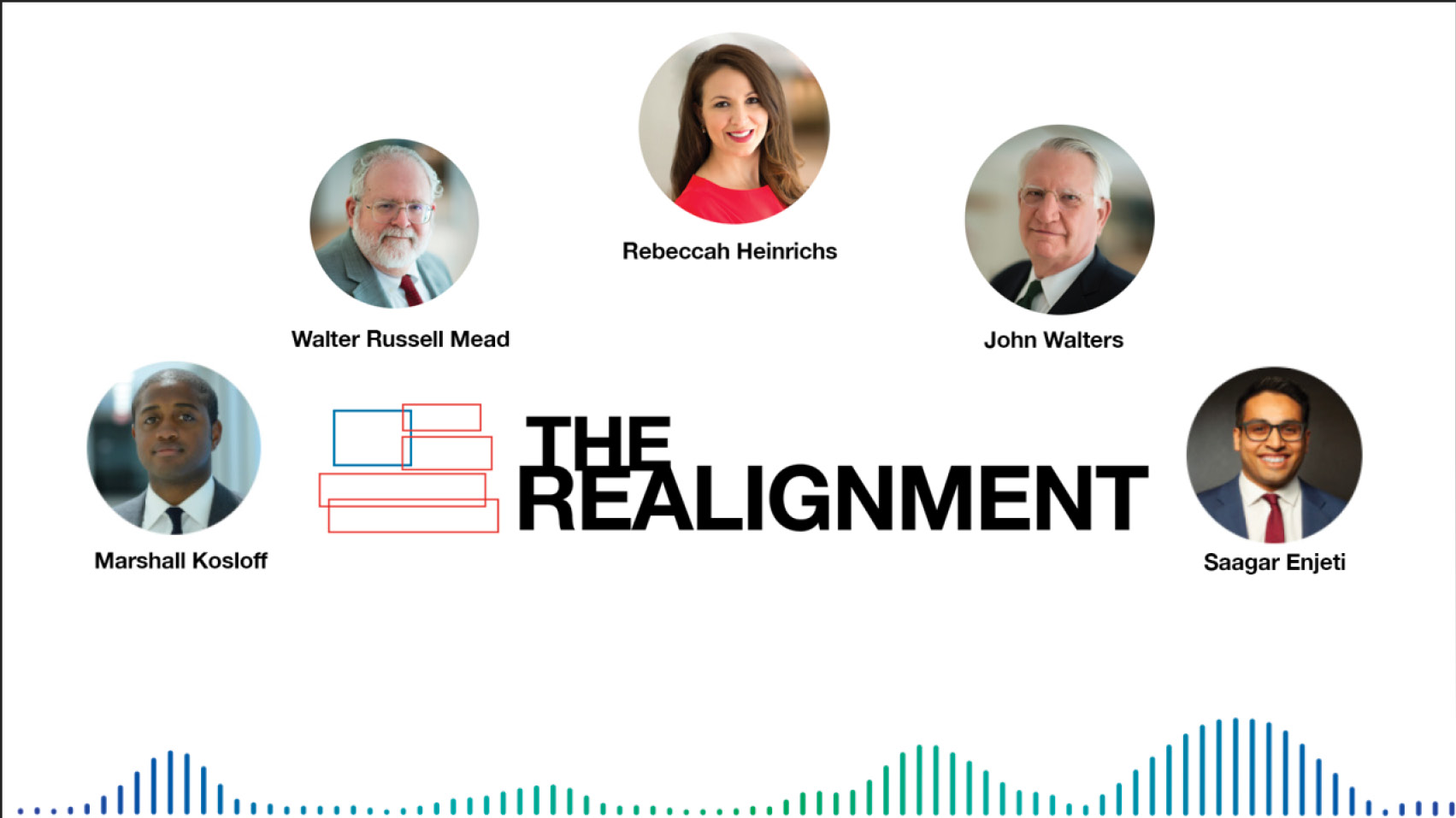 Walter Russell Mead, Rebeccah Heinrichs, and John Walters join The Realignment to discuss how the U.S., and the world at large, is reassessing national interests and national security in light of the COVID-19 outbreak.