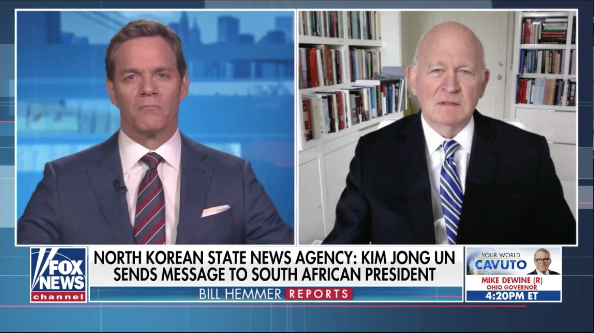 Bill Hemmer on Fox News, Michael Pillsbury discusses rumors surrounding Kim Jong Un's health.