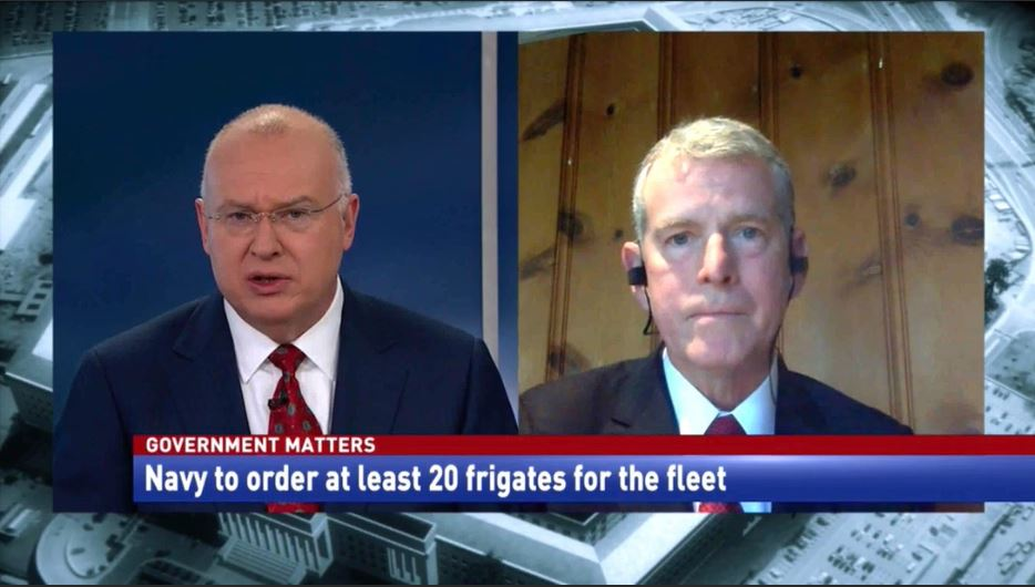 Bryan Clark discusses the Navy's new frigate program.