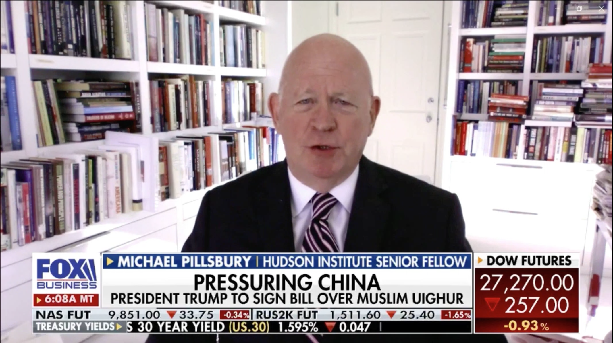 Michael Pillsbury discusses the growing list of tensions between the U.S. and China.