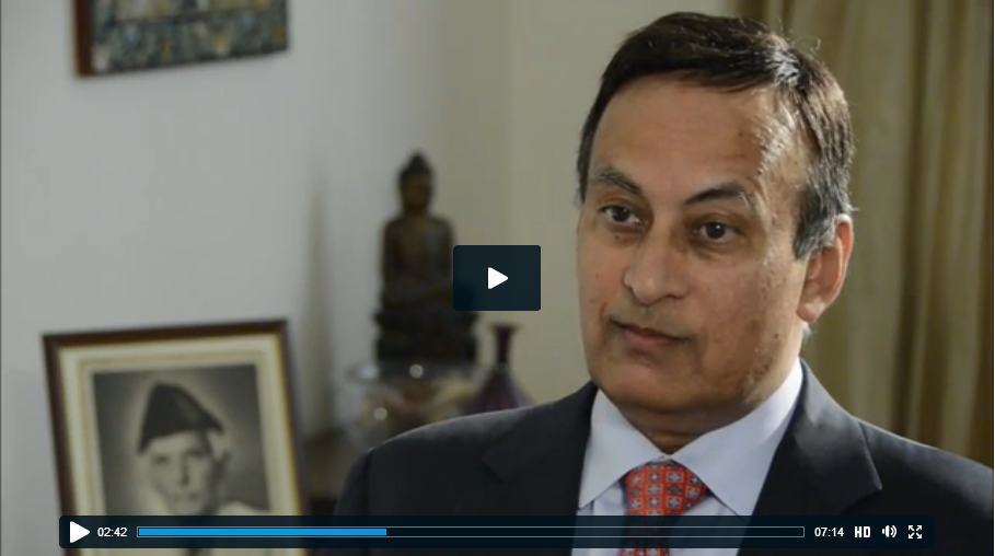Husain Haqqani Discusses U.S.-Pakistan Relations, PBS Newshour, November 29, 2013